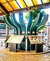 Nagaoka Station Rekishi panel.jpg