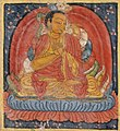 Nagarjuna (left), Buton Rinpoche (right), Folio from a Dharani (Protective or Empowering Spells) LACMA M.81.9.1 (cropped).jpg