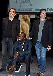 Nakache Omar Sy Toledano Lumières 2012.jpg
