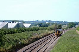 Nantwich-Whitchurch railway, near Wrenbury - geograph.org.uk - 183066.jpg