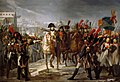 Napoleon Addressing the 2nd Corps of his Army at the Bridge over the Lech at Augsburg, Germany, on October 12, 1805 (Claude Gautherot).jpg