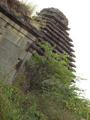 Chaudayyadanapura - Narasimha temple Narasapur near Chaudayyadanapur, en route to Guttal, Haveri District, Karnataka