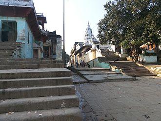 Mirzapur - Steps at Nar Ghat