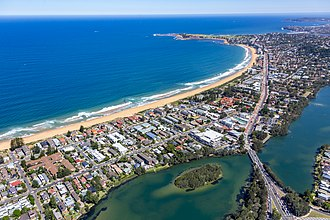 Narrabeen - Image: Narrabeen to Long Reef Aerial