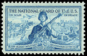 National Guard of the United States - Postage stamp of 1953