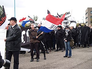 Dutch Peoples-Union NVU nazi girl fotographer