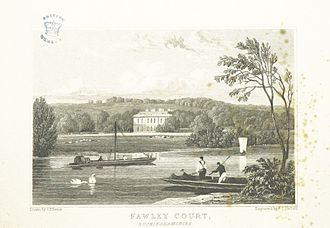 Fawley Court - Fawley Court, Buckinghamshire in 1826