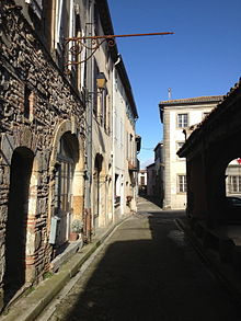 Near the old market hall in Fanjeaux.jpg