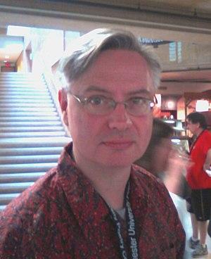 Ned Balbo - Ned Balbo attending the West Chester University Poetry Conference