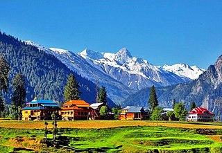 Azad Kashmir Region administered by Pakistan