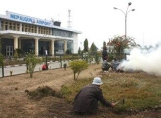 Nepalgunj - Nepalgunj airport