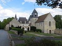 Neufvy-sur-Aronde - Église Saint-Pierre et Château.jpg