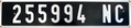 New Caledonia license plate 1987 series.png
