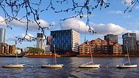 New Embassy of the United States of America in Battersea Nine Elms, London, seen from Pimlico.jpg