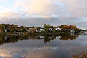 New Glasgow, Nova Scotia - New Glasgow riverfront
