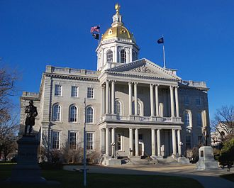 New Hampshire State House - The New Hampshire State House in Concord