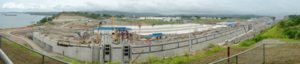 Panama Canal expansion project - New Panama Canal expansion project. July 2015