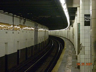 15th Street–Prospect Park (IND Culver Line) - Image: New York City Subway. 15th on F