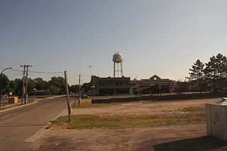 New York Mills, Minnesota - Downtown New York Mills and water tower