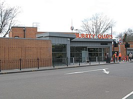 New entrance to Surrey Quays station - geograph.org.uk - 1766435.jpg