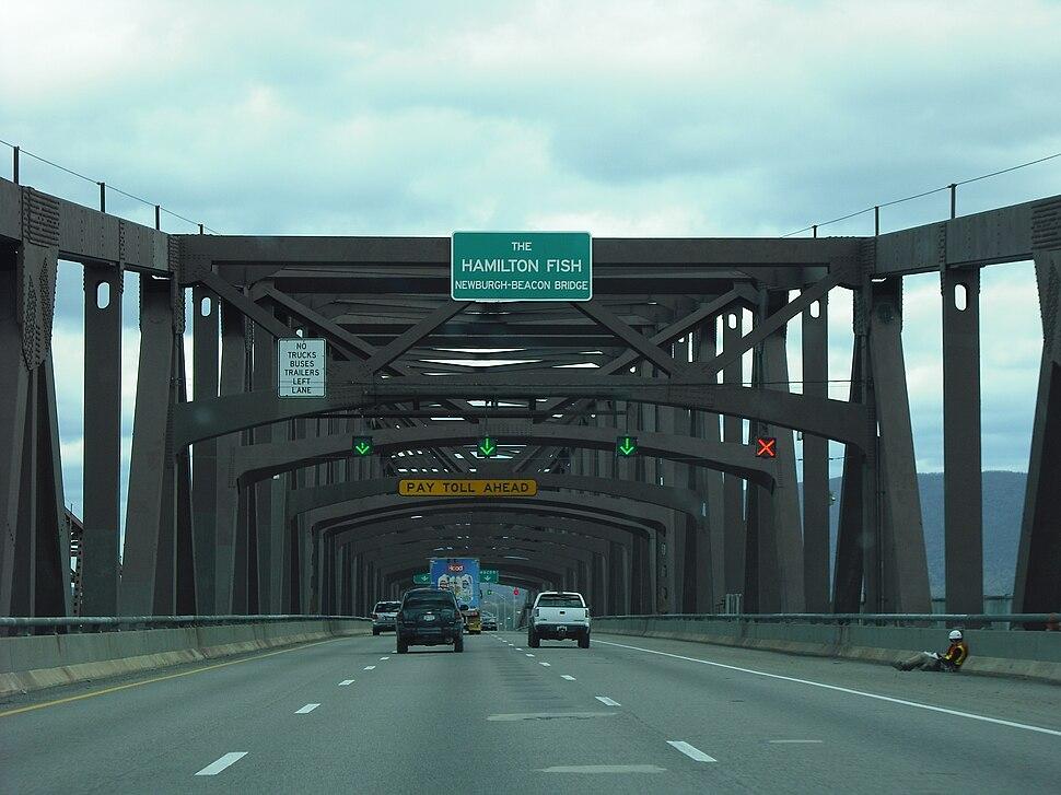 Newburgh-Beacon Bridge Eastbound