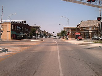 Newton, Kansas - Downtown Newton, 2006