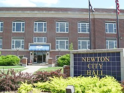 Newton City Hall, 2006