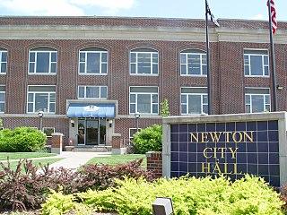 Newton, Kansas City in Harvey County, Kansas