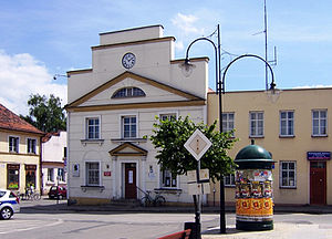 Nieszawa - Town Hall on Market Square