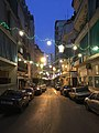 Night scene during Ramadan in Basta, Beirut.jpg