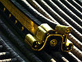 Nikko Toshogu Bell Tower Roof Detail C6783.jpg