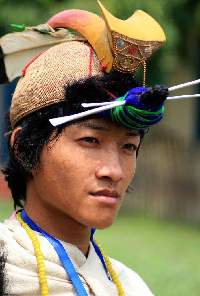 Nishi tribal from Arunachal - Diganta Talukdar