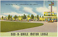 Nod-A-While Motor Lodge, East on Highway 66, Albuquerque, New Mexico.jpg