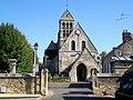 Nogent-sur-Oise (60), église Sainte-Maure-et-Sainte-Brigide, façade ouest, place de l'Église (1).jpg