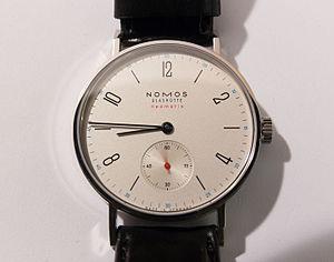 Glashütte - Tangente Neomatik, wristwatch made by Nomos