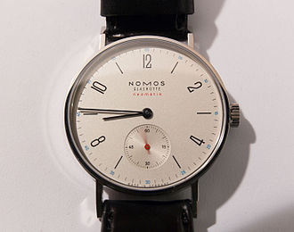 Glashütte - Tangente Neomatik, wristwatch made by Nomos