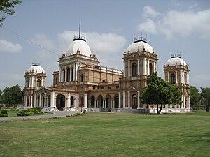 Sadeq Mohammad Khan V - Noor Mahal in Bahawalpur, was one of many palaces of the Nawab