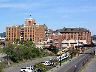Norfolk and Western Railway Company Historic District United States historic place