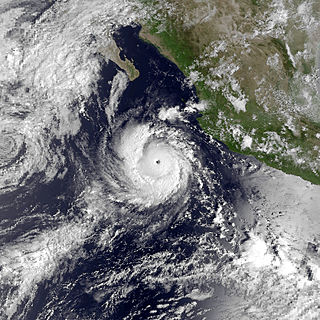 Hurricane Norma (1981) Category 3 Pacific hurricane in 1981