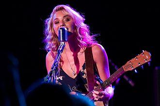 AJ Michalka - Michalka performing in 2013