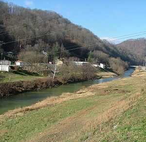 Kentucky River - The North Fork near Combs.