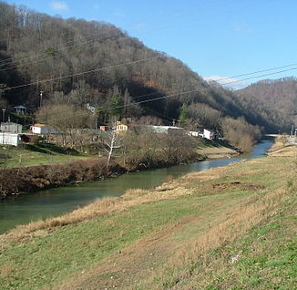 North Fork Kentucky River nahe Combs