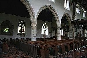 St John the Baptist, Penshurst - North arcade
