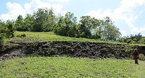 Inabanga, Bohol - North Bohol fault in Anonang barangay