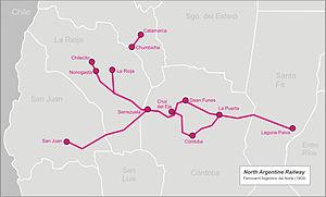 North Argentine Railway - Image: North arg railway