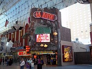 La Bayou - Image: Northwest entrance la bayou casino 1