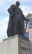 Nott Statue Carmarthen by Aberdare Blog