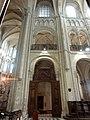 Noyon (60), cathédrale Notre-Dame, chœur, 1ère travée, élévation nord.jpg