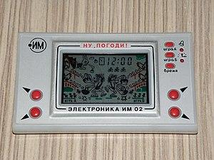 Электроника (игры) — Википедия