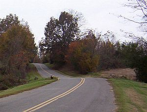 Lauderdale County, Tennessee - Scenic view in Lauderdale County (2004)